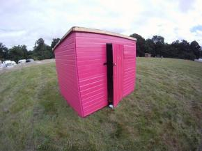 THE PINK SHED TAKE OVER at Supernormal Festival